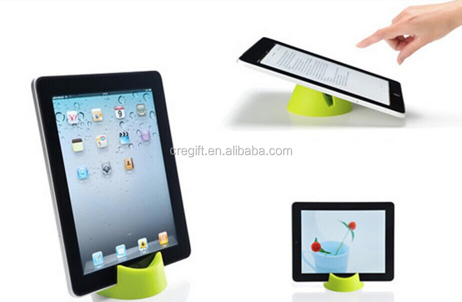 hot selling factory price portable foldable plastic tablet stand for 7-10 inch pad
