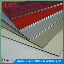 Factory Direct Sale Curtain Wall Facade Cladding Fireproof PVDF Aluminum Panel ACP Aluminum Composite Panel
