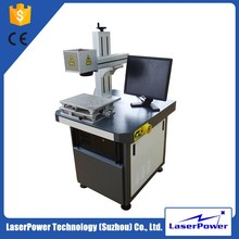 Professional fiber laser marking machine for metal and plastic logo printing