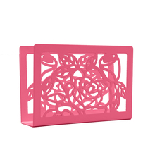 Wholesale cheap novelty rectangular napkin holder with tabletop decorative