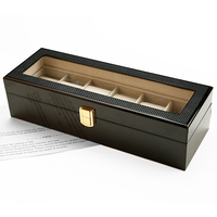 Zenper High-End 6 slots Luxury Watch Case/ Wooden Display Box/Packing Boxes