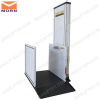 1.0-6.0m cheap home elevator for disabled people