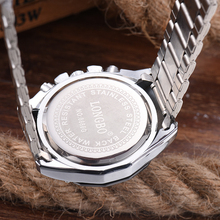 8686 2017 High Quality Sporty Style Decorative Dial Luminous Quartz Watch Wrist Men