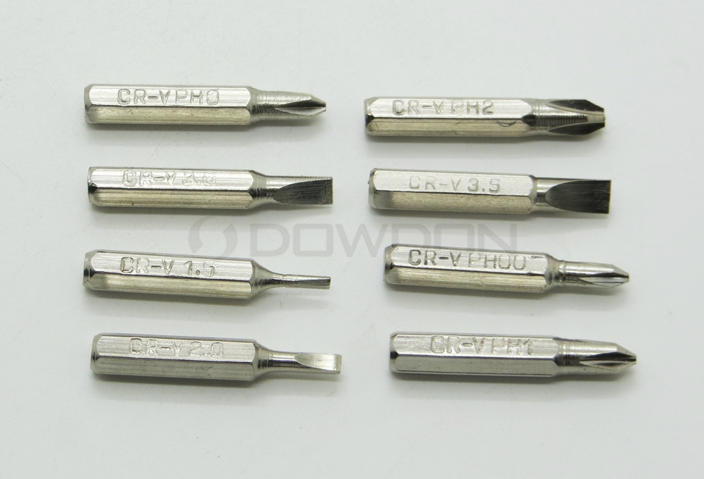 8 IN 1 Multifunctional Screwdriver Set Multi-tool Aluminum Pen Screwdrive