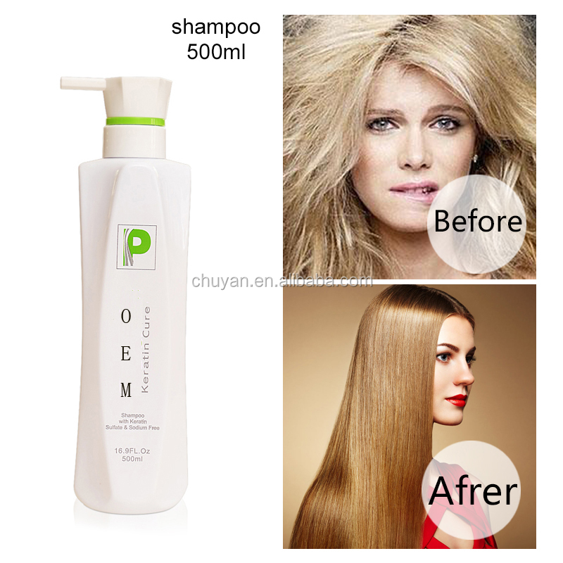 500ml Best professional hair shampoo products for hair loss