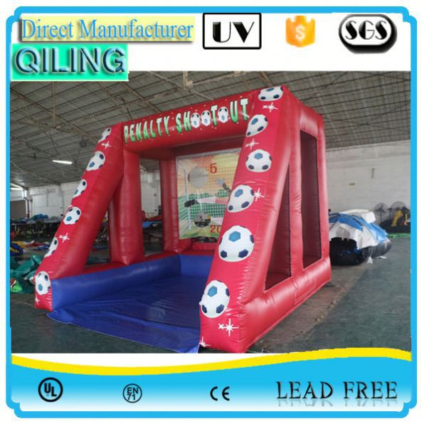 Most attractive fireproof inflatab football gate for party