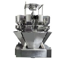 IP66 Water-proof 10Head Weigher/Frozen Food, Sea Food Weigh and Pack