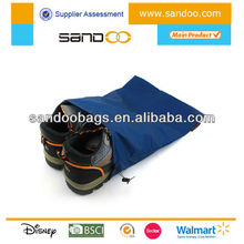 Drawstring fag end shoe bags