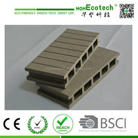 flexible waterproof wpc wood plastic raw material For decking