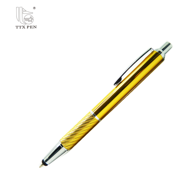 2018 Promotional touch screen stylus pen with rubber tip touch pen