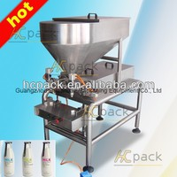 Double-heads semi-automatic milk filling machine from China supplier