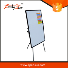 luckystar collapsible whiteboard flip chart stand with free standing antique wooden easel
