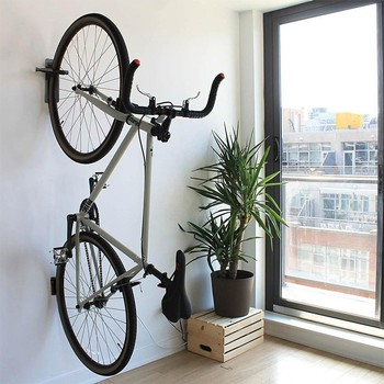 Maxfind Wall mounted three pieces multifunctional bike carrier