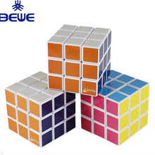 2018 New Cheap Plastic Puzzle Magic Cube For Promotion