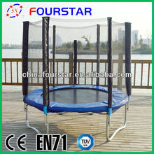 High Quality TUV-GS Approved Household Bungee Trampoline with Enclosure for Body Building