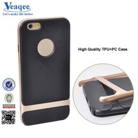 Veaqee high quality 2 in 1 hybrid tpu combo phone case for iphone 6