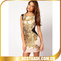 2014 top quality bandage exotic prom dresses for women