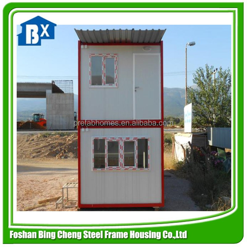 Prefab living container homes