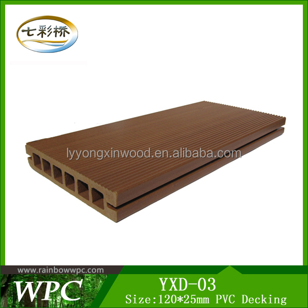 Pvc outdoor decking cheap pvc decking modern decorative for Cheap decking material
