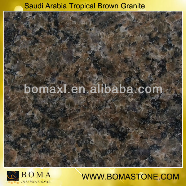 Saudi Arabia Tropical Brown Granite
