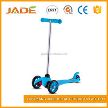 Best selling high quality two durable PU wheel kids kick scooter with rear brake