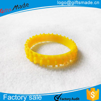 promotion innovative rubber silicone bracelet,custom silicone fancy wrist band