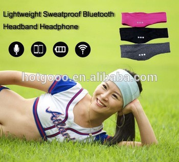 LANGDER new arrival bluetooth sports headbands for girls and women