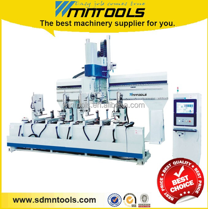 Five axis CNC machining center for wood mould machine