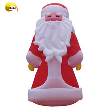Cartoon Type inflatable western christmas decorations Santa