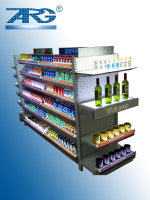 supermarket convenient shop Pharmacy floor stand display Patented design LED shelf advertising light