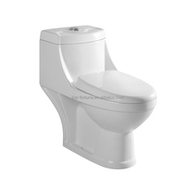 Luxury Sanitary Ware Washdown Ivory Color One Piece Toilet
