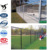 2017 hot sale pvc coated and galvanized chain link fence