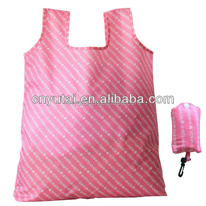 New products reusable folding shopper tote bag(All eco certificate provide)