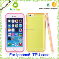 Wholesale Best Price Ultra Thin Crystal Clear Mobile Phone Case for iPhone 6 / 6S Transparent TPU Cases Covers