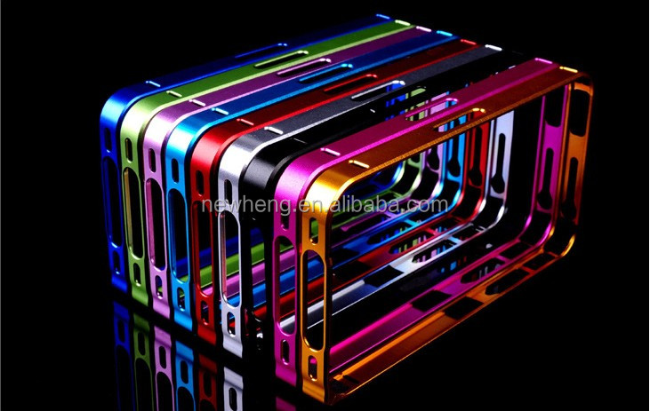 Metal aluminum bumper case cover for iphone 4/4s 5 5s