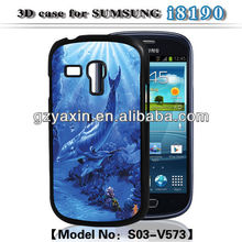 Cute case for samsung galaxy s3 mini, 3D case for samsung galaxy s3 MINI