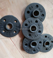 "3/4""- 1"" - 2"" - 1.1/2"" - black iron pipe fittings & floor flange for Furniture purpose"