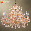 Led light crystal chandelier empire crystal chandelier halo crystal chandelier OMG88644W