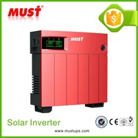 MUST High Frequency PWM 15/20A Adjustable 0.66-1.44KW Solar Power Inverter