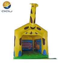 Manufacture 0.55mm PVC high quality inflatable bouncy castles,kids inflatable bounce bed,moon bounce for sale