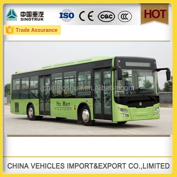 CHINA SINOTRUCK high quality howo city bus luxury bus price 60 seater bus