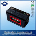 DIN55 dry charged car battery for European car