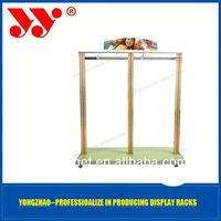 Standard and elegant retail store hanging bag display stand