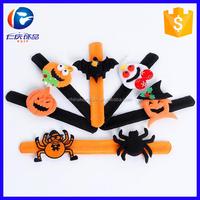 Promotional halloween wristband wrist strap plush toys