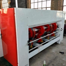 chain feeder corrugated paperboard slotting machine (electrical adjust)