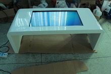 46 inch multimedia touchscreen table kiosk, multi conference table,Interactive Multi Touch Table