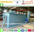 DAF oily wastewater treatment plant, dissolved air flotation unit