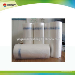 HDPE printing supermarket shopping plastic bags on roll