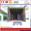 Blasting cabinet/Blasting room/Blasting booth for wind transformers