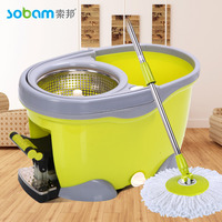 SOBAM Brand top quality 360 spin mop and bucket trending hot sell proudct 360 floor rotating mop